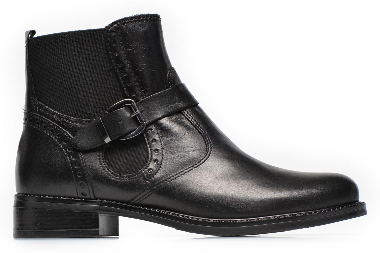Boots en enkellaarsjes Tamaris Tybety Zwart achterkant
