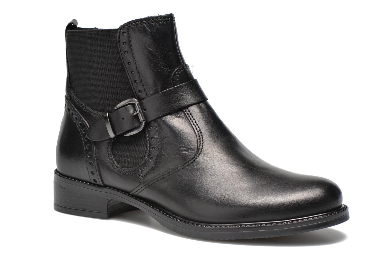 Boots en enkellaarsjes Tamaris Tybety Zwart detail