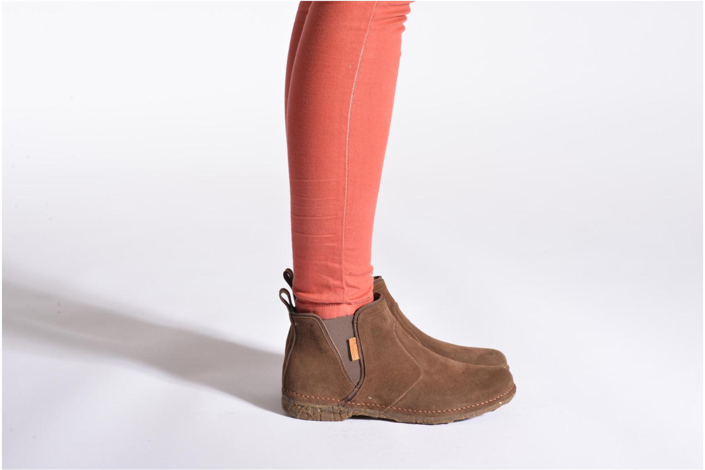 Bottines et boots El Naturalista Ankor N996 Bleu vue bas / vue portée sac