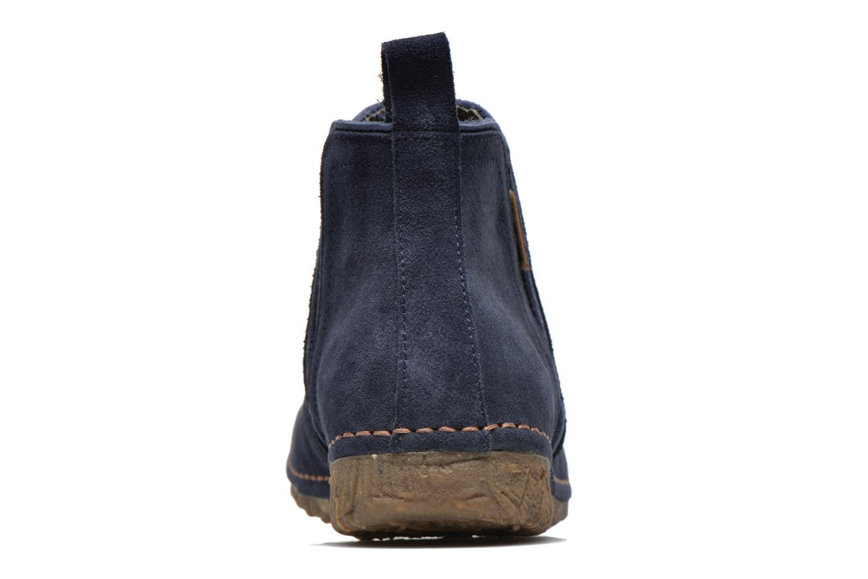 Bottines et boots El Naturalista Ankor N996 Bleu vue droite