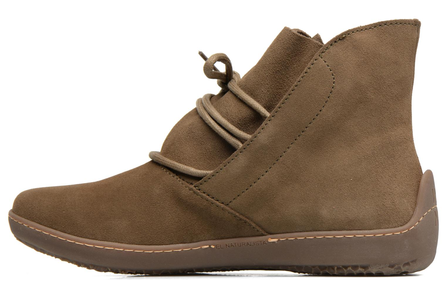 Ankle boots El Naturalista Bee ND82 Green front view