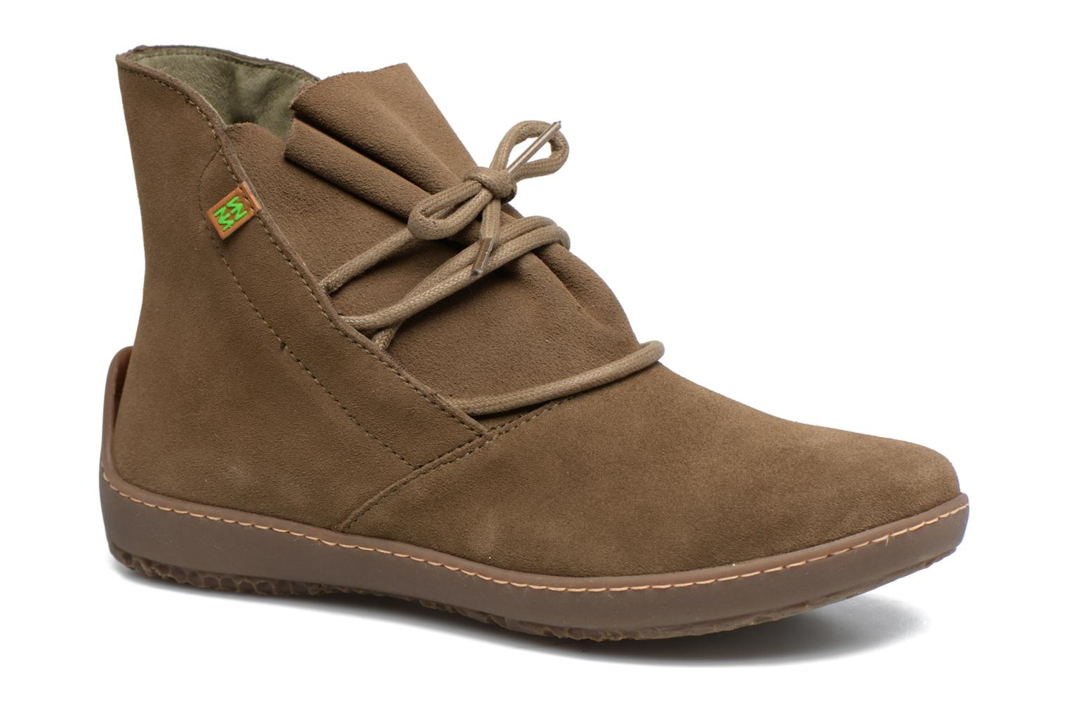 Ankle boots El Naturalista Bee ND82 Green detailed view/ Pair view