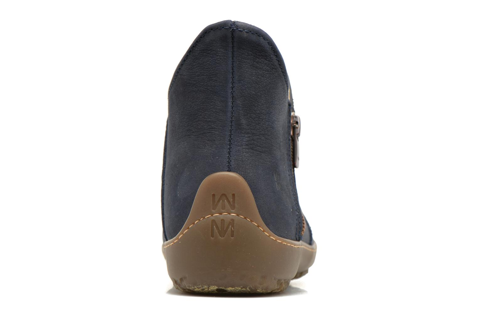 Ankle boots El Naturalista Bee ND81 Blue view from the right