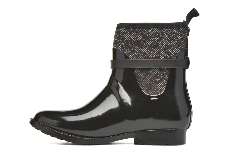 Bottines et boots Michael Michael Kors Charme stretch rain bootie Noir vue face