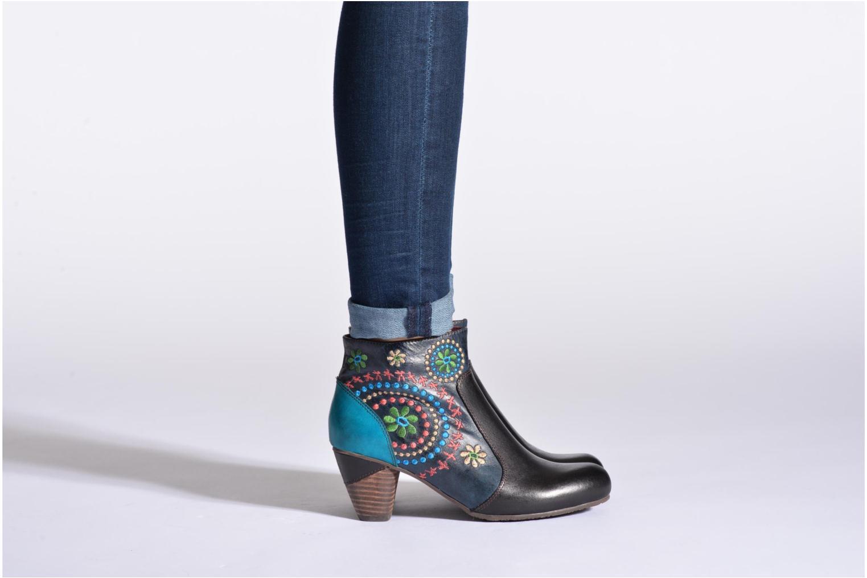 Bottines et boots Laura Vita Temois Multicolore vue bas / vue portée sac