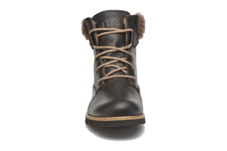 Bottines et boots TBS Anaick Noir vue portées chaussures