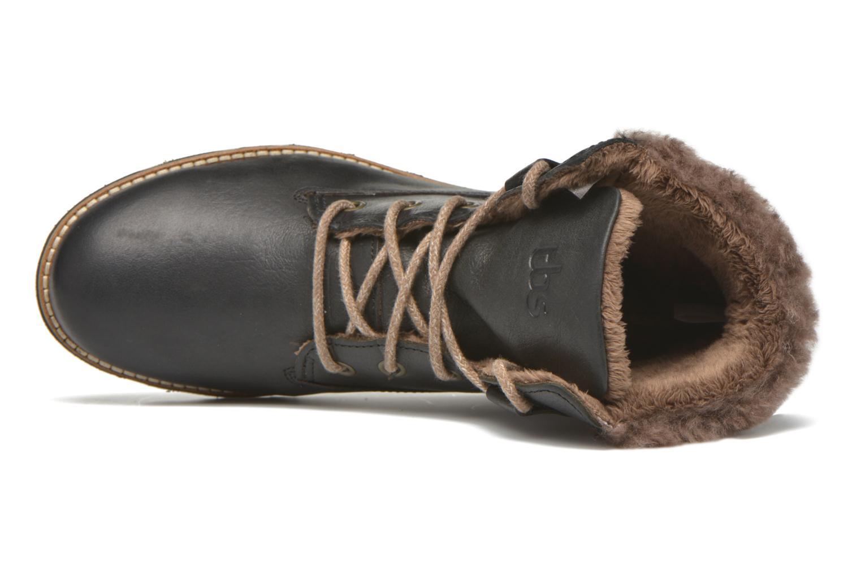 Bottines et boots TBS Anaick Noir vue gauche