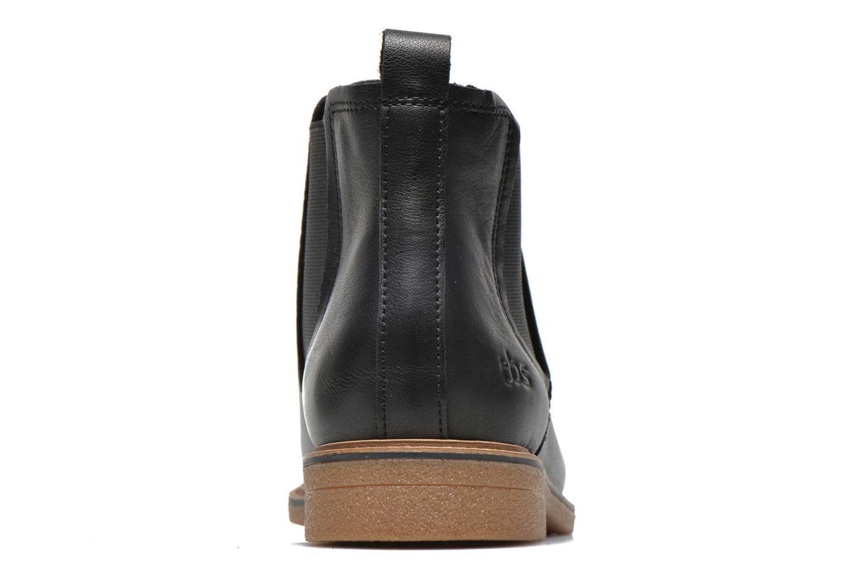Bottines et boots TBS British Noir vue droite