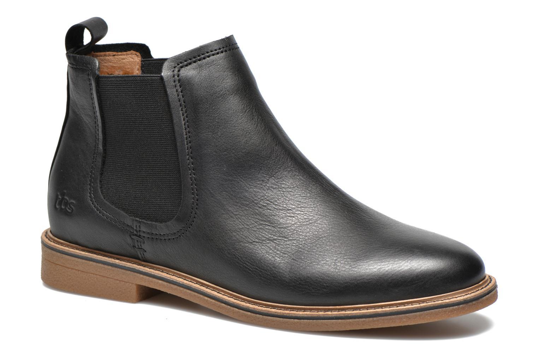 Stiefeletten & Boots TBS British schwarz detaillierte ansicht/modell