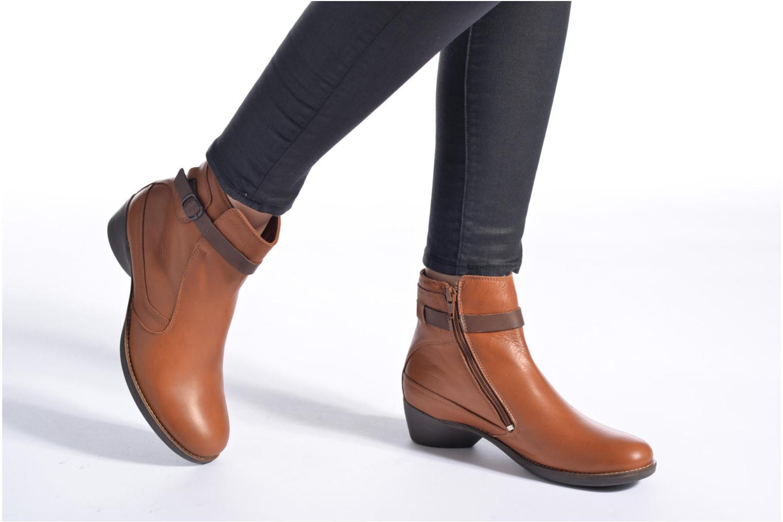 Stiefeletten & Boots TBS Gently braun ansicht von unten / tasche getragen