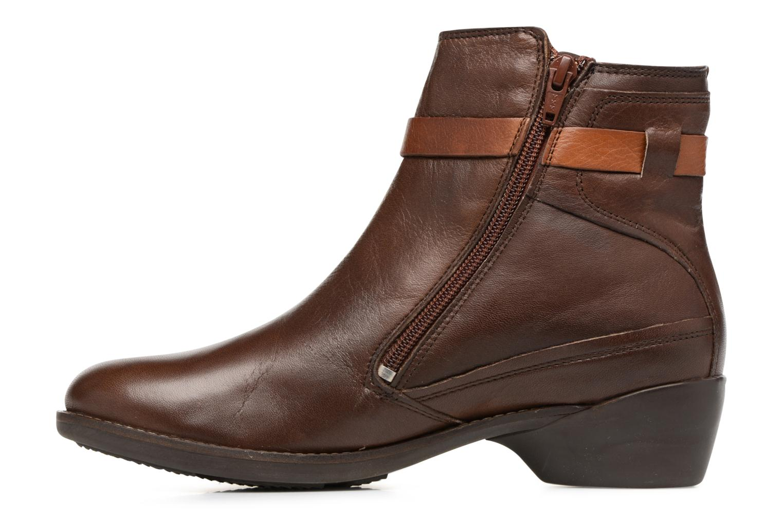 Boots en enkellaarsjes TBS Gently Bruin voorkant