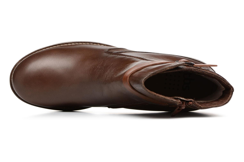 Boots en enkellaarsjes TBS Gently Bruin links