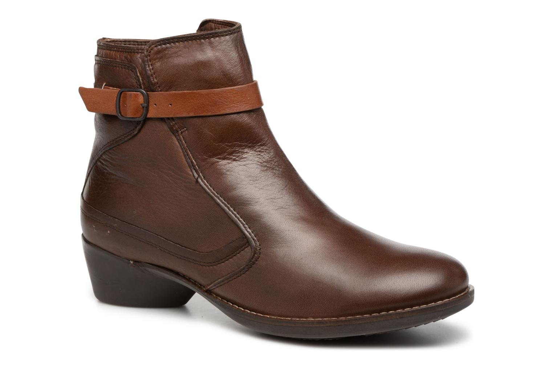 Boots en enkellaarsjes TBS Gently Bruin detail
