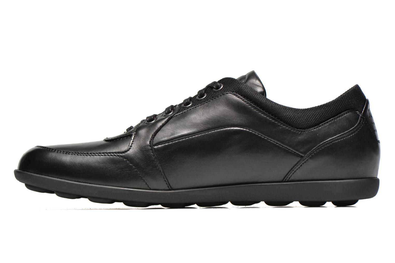 Sneaker TBS Piazza schwarz ansicht von vorne