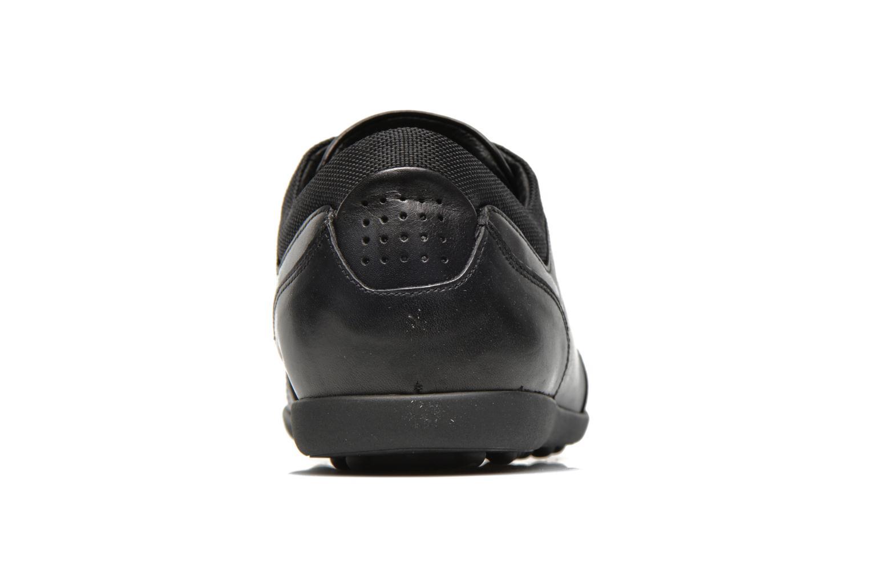 Sneaker TBS Piazza schwarz ansicht von rechts
