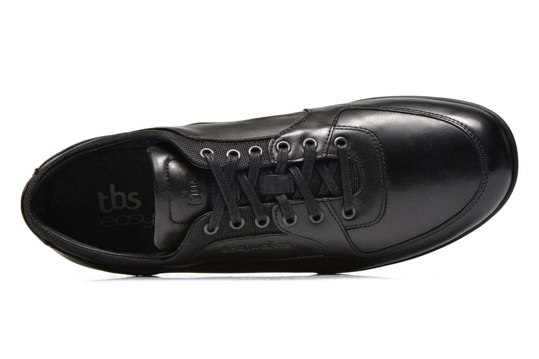 Sneaker TBS Piazza schwarz ansicht von links