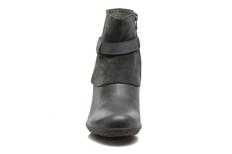 Bottines et boots TBS Wester Bleu vue portées chaussures