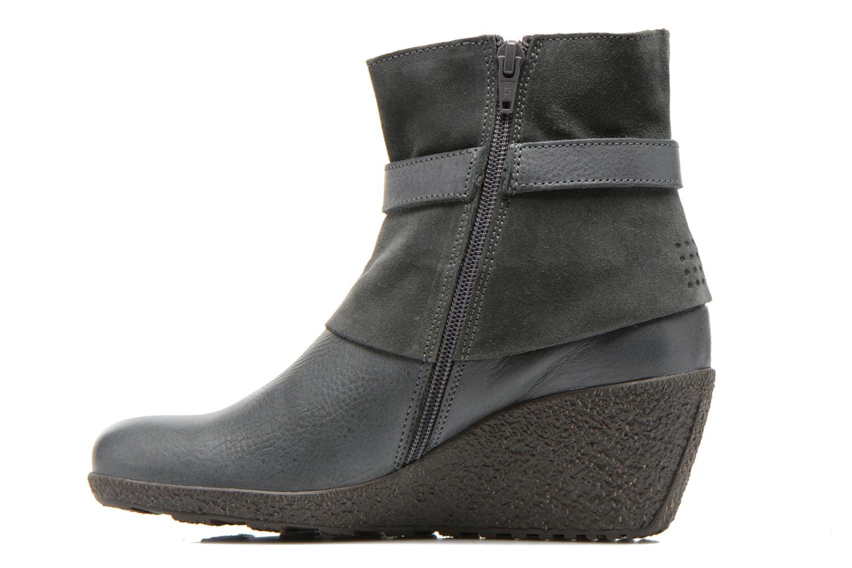 Bottines et boots TBS Wester Bleu vue face