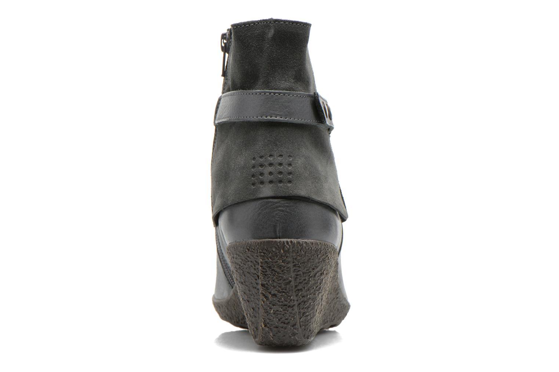Bottines et boots TBS Wester Bleu vue droite