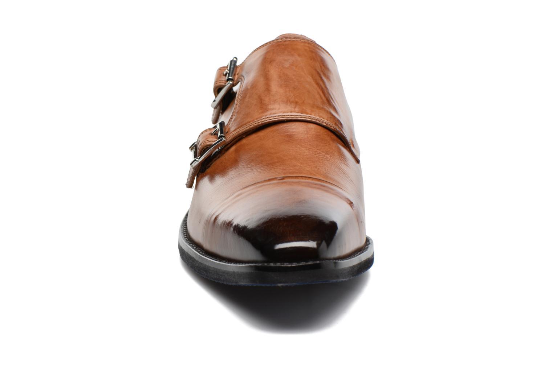 Mocassins Melvin & Hamilton Freddy 1 Marron vue portées chaussures