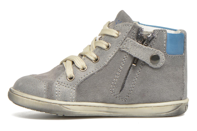 Stiefeletten & Boots Primigi Palmer 3 grau ansicht von vorne