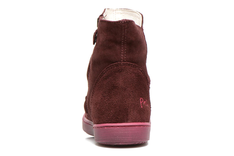Bottines et boots Primigi Mulan Bordeaux vue droite