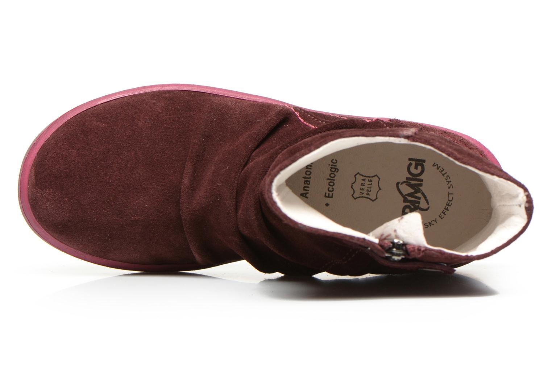 Stiefeletten & Boots Primigi Mulan weinrot ansicht von links