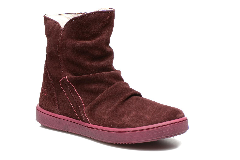 Bottines et boots Primigi Mulan Bordeaux vue détail/paire