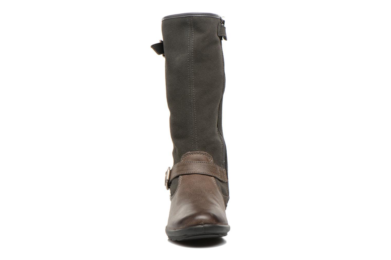 Bottes Primigi Velia-E Gris vue portées chaussures