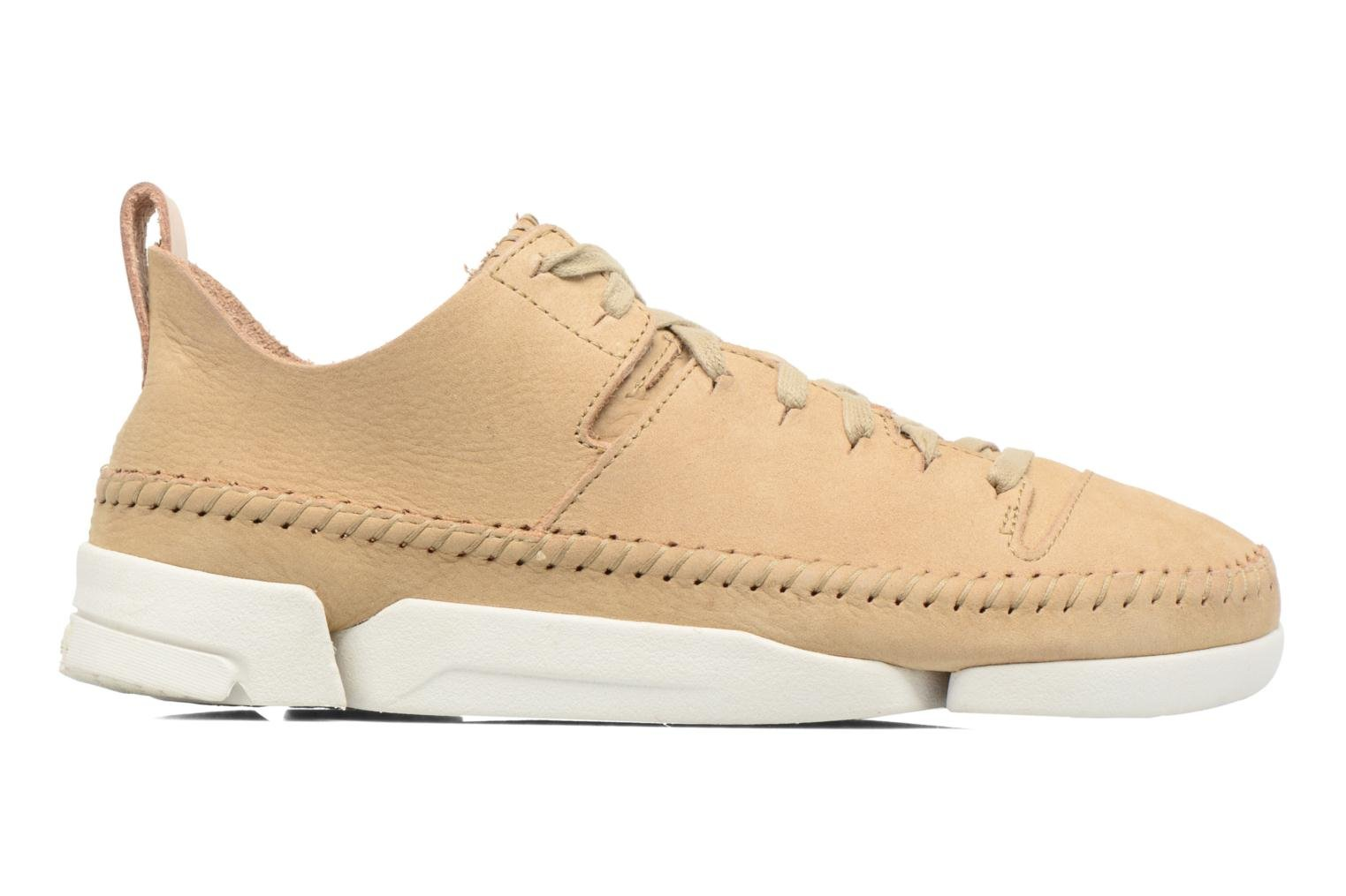 Baskets Clarks Originals Trigenic Flex W Beige vue derrière
