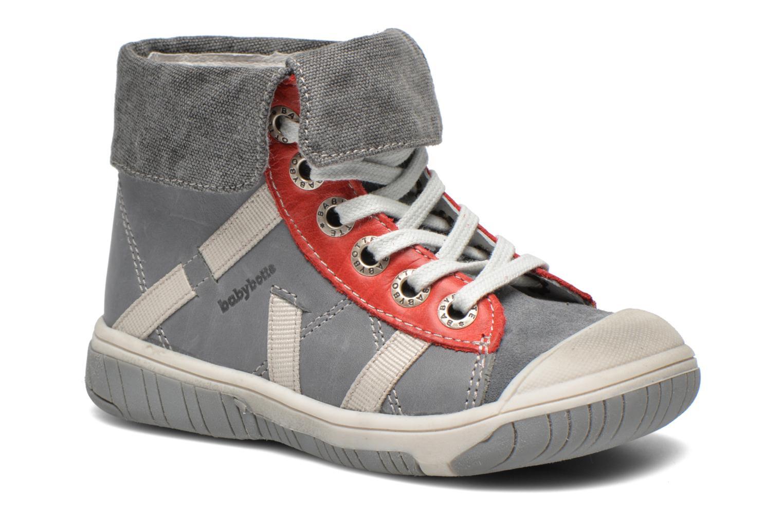 Bottines et boots Babybotte Artiste3 Gris vue détail/paire