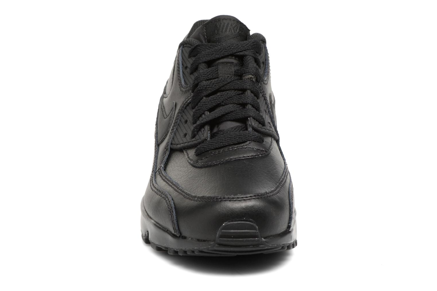 Trainers Nike Nike Air Max 90 Ltr (Gs) Black model view