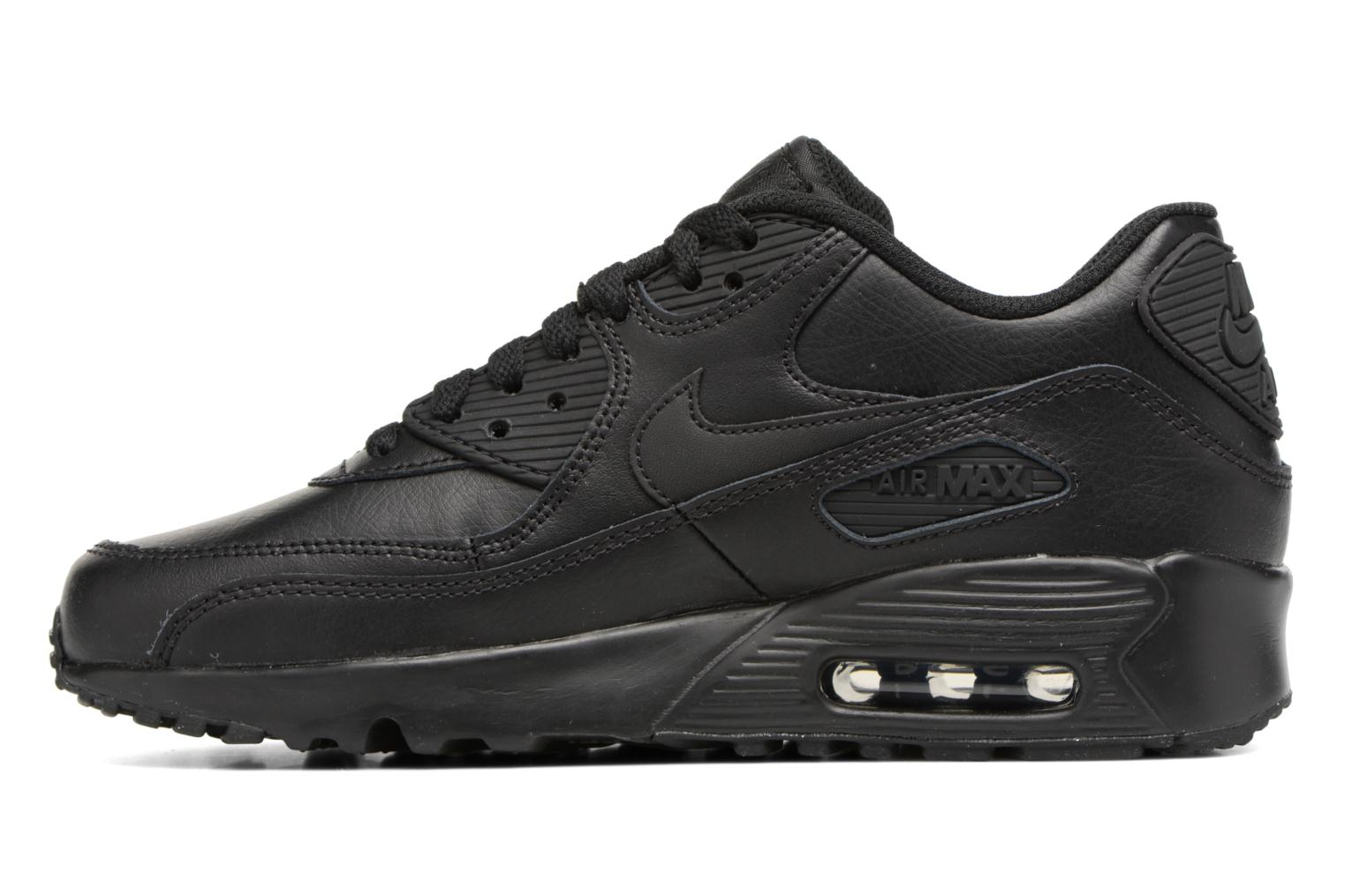 Sneakers Nike Nike Air Max 90 Ltr (Gs) Nero immagine frontale