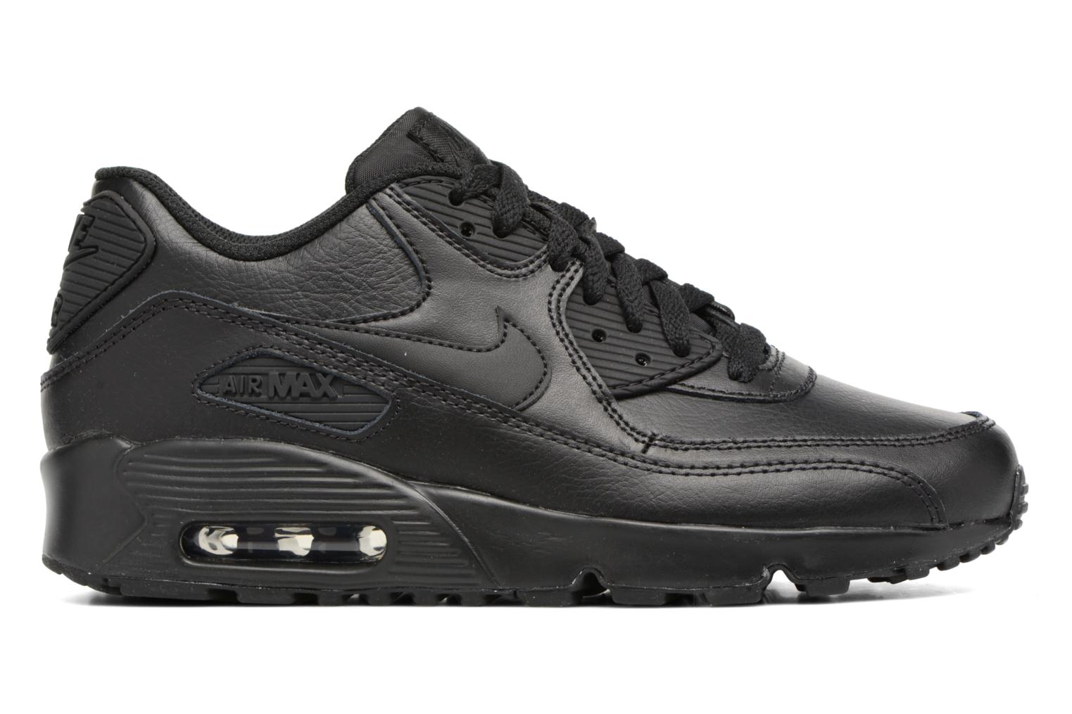 Trainers Nike Nike Air Max 90 Ltr (Gs) Black back view