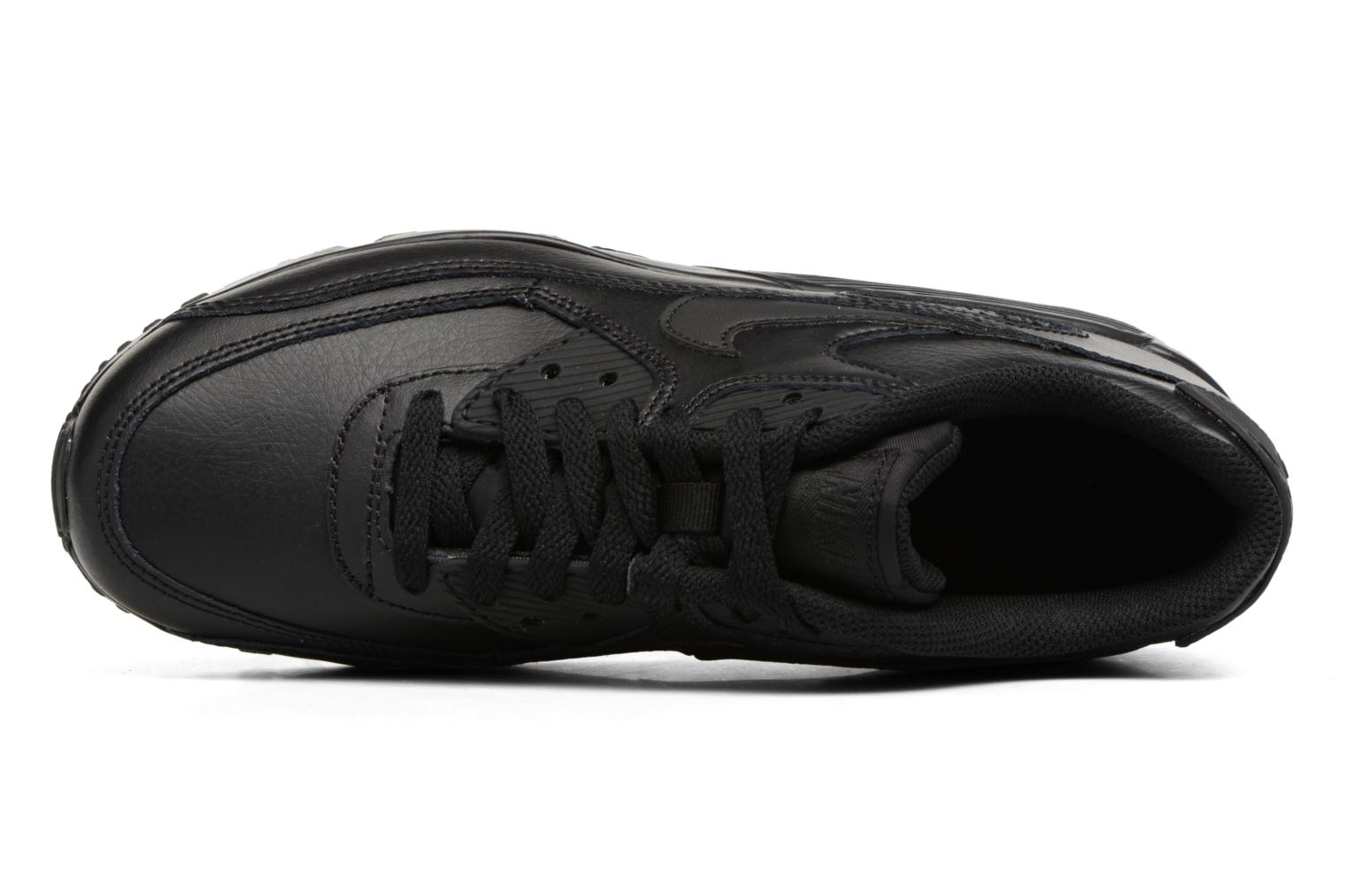 Sneakers Nike Nike Air Max 90 Ltr (Gs) Nero immagine sinistra
