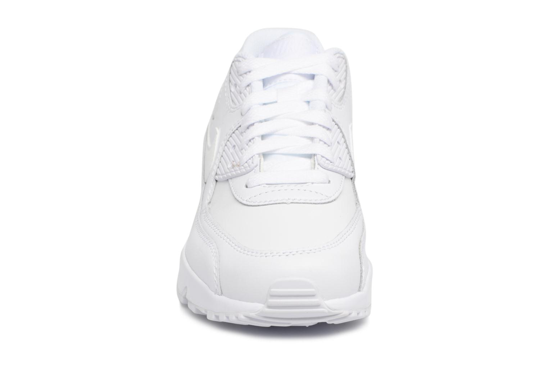 Sneaker Nike Nike Air Max 90 Ltr (Gs) weiß schuhe getragen