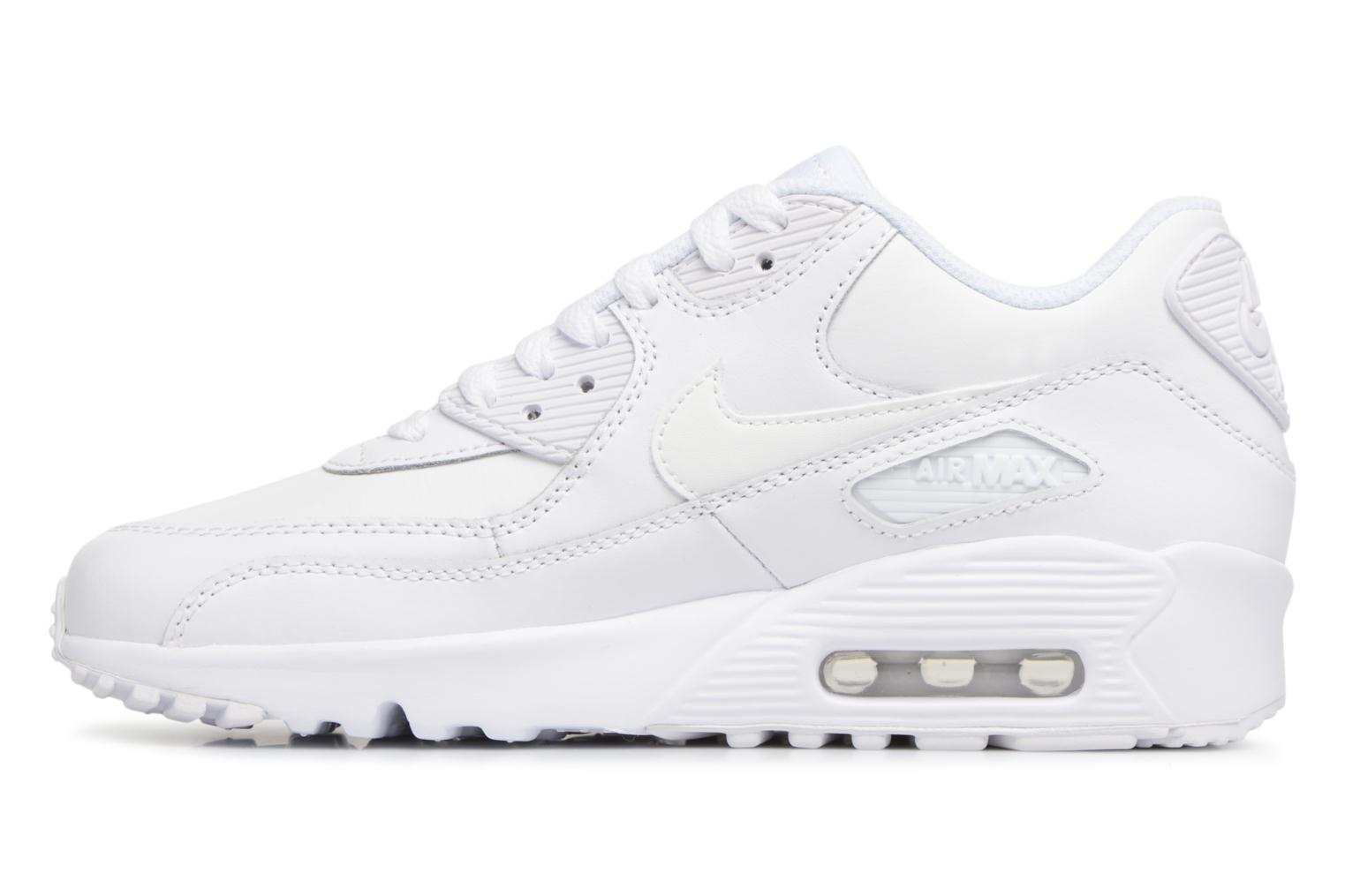 Sneakers Nike Nike Air Max 90 Ltr (Gs) Wit voorkant