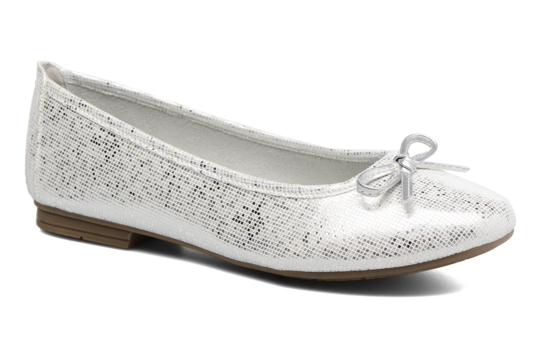 Bailarinas Jana shoes Aciego Plateado vista de detalle / par