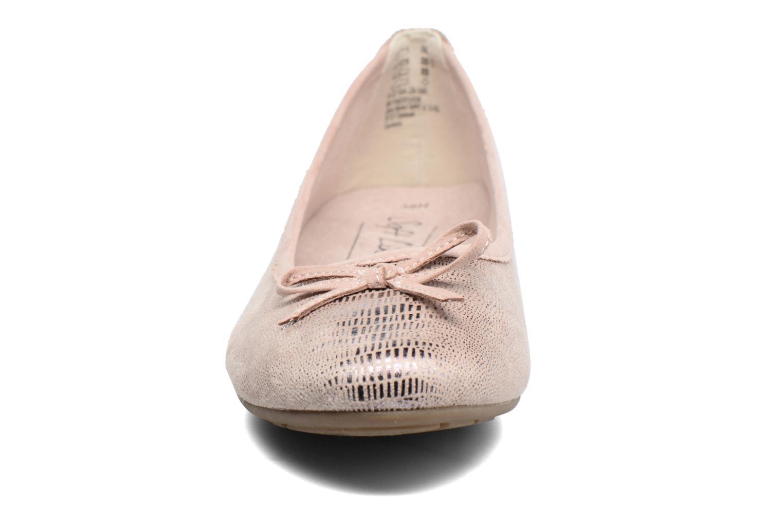 Ballerinas Jana shoes Aciego rosa schuhe getragen
