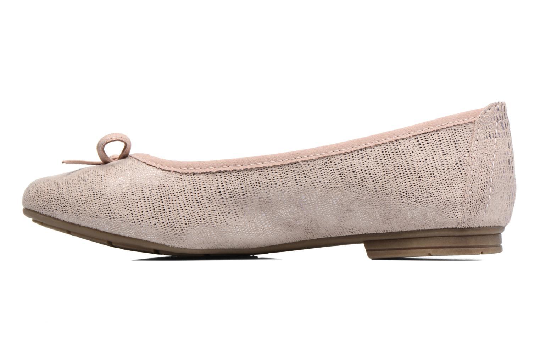Ballerinas Jana shoes Aciego rosa ansicht von vorne