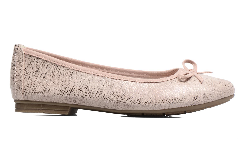 Ballerinas Jana shoes Aciego rosa ansicht von hinten