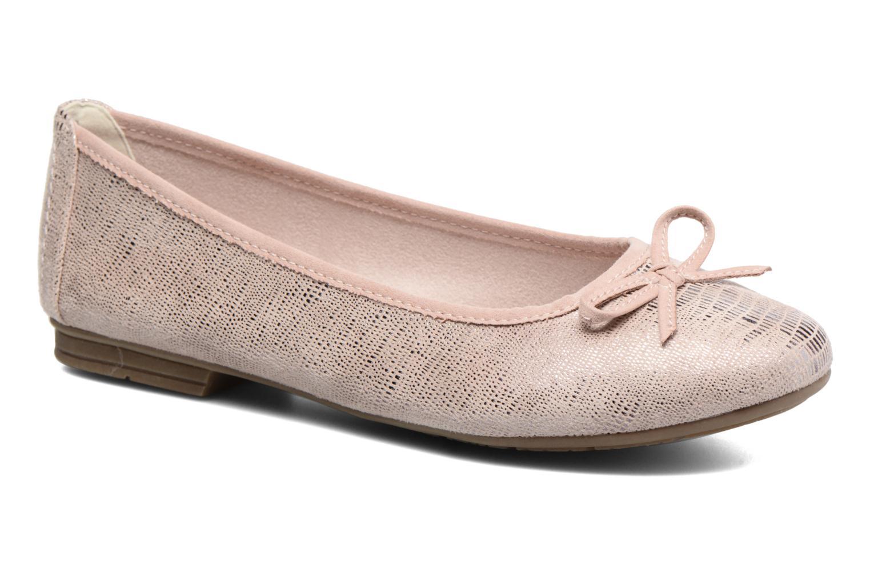 Bailarinas Jana shoes Aciego Rosa vista de detalle / par