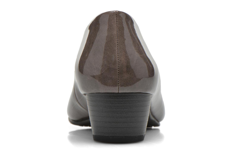 Escarpins Jana shoes Zudiri Beige vue droite