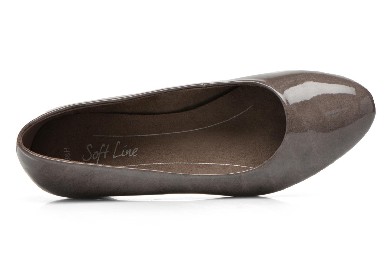 Escarpins Jana shoes Zudiri Beige vue gauche