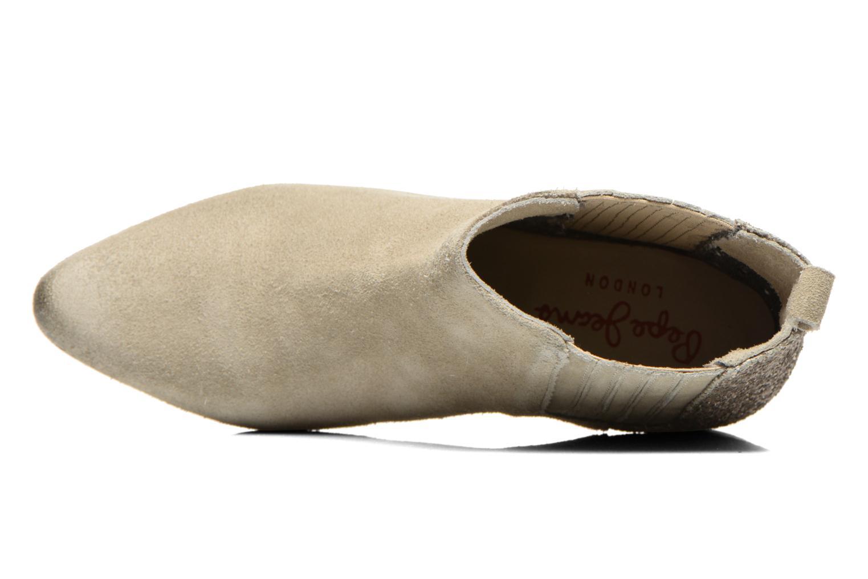 Bottines et boots Pepe jeans Redford Half Beige vue gauche
