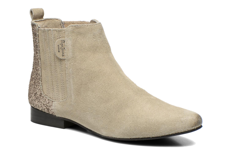 Bottines et boots Pepe jeans Redford Half Beige vue détail/paire