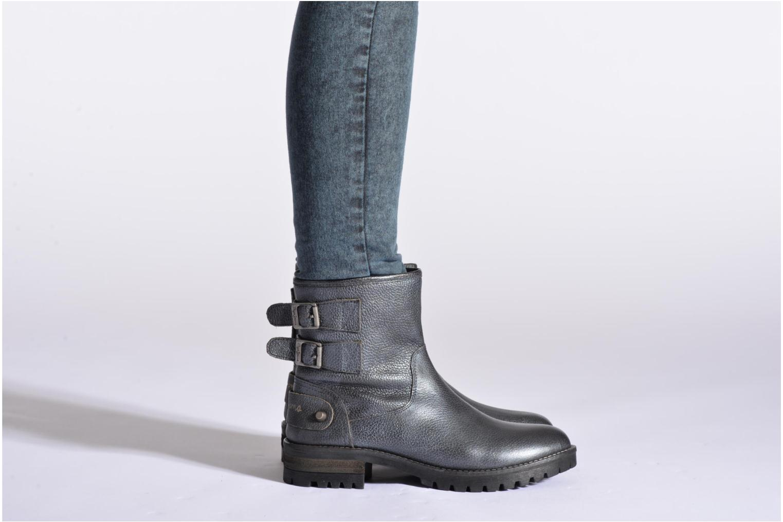 Bottines et boots Pepe jeans Quaid Noir vue bas / vue portée sac