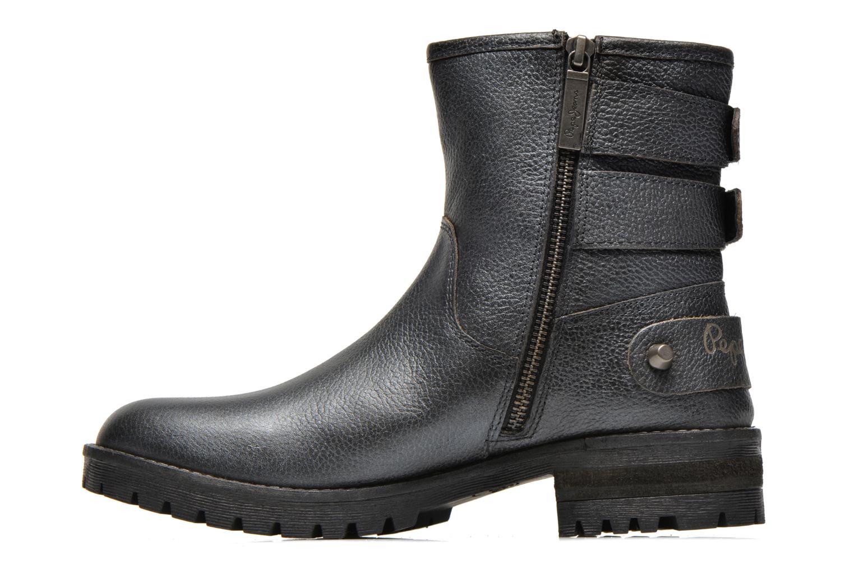 Bottines et boots Pepe jeans Quaid Noir vue face