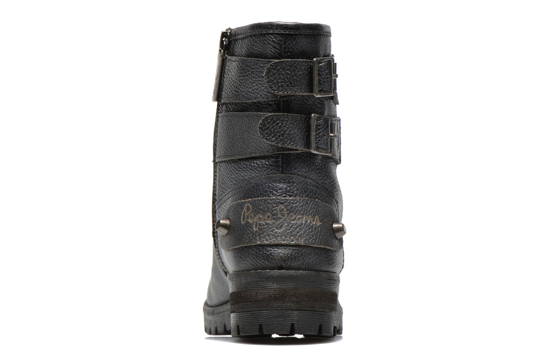 Bottines et boots Pepe jeans Quaid Noir vue droite