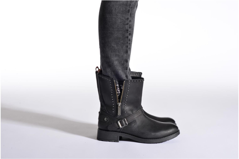Bottines et boots Pepe jeans Pimlico Sequins Noir vue bas / vue portée sac